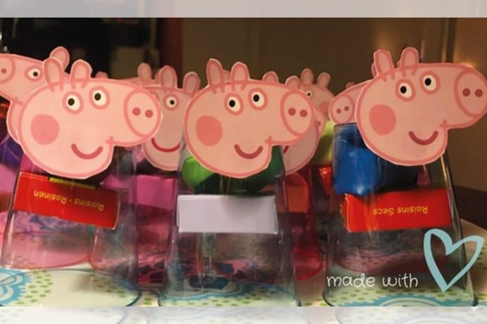 Peppa Pig traktatie