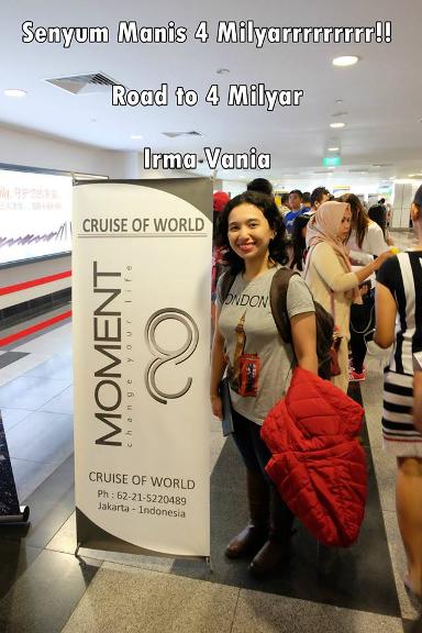 irma vania peluang bisnis online moment info bisnis rumahan bonus 4 milyar