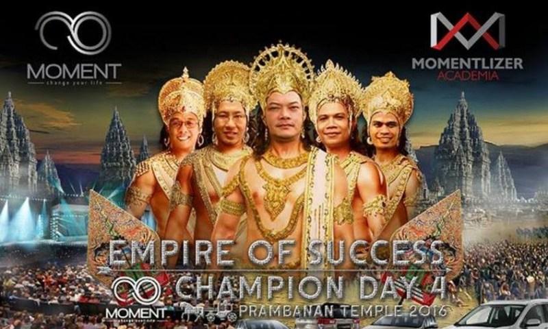 moment champion day 4 candi prambanan yogyakarta irma vania bisnis online rumahan
