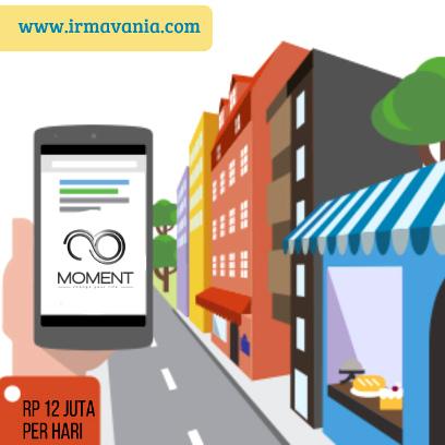 bisnis online moment irma vania modal kecil online
