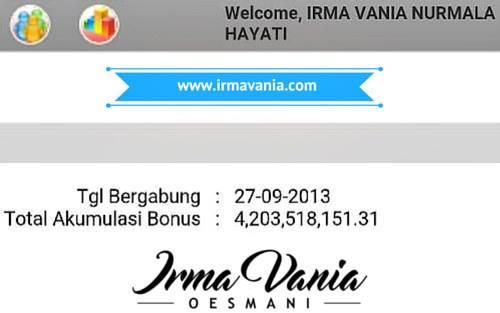 Bisnis Cepat Kaya dapat 4 Milyar Lebih - Irma Vania Oesmani