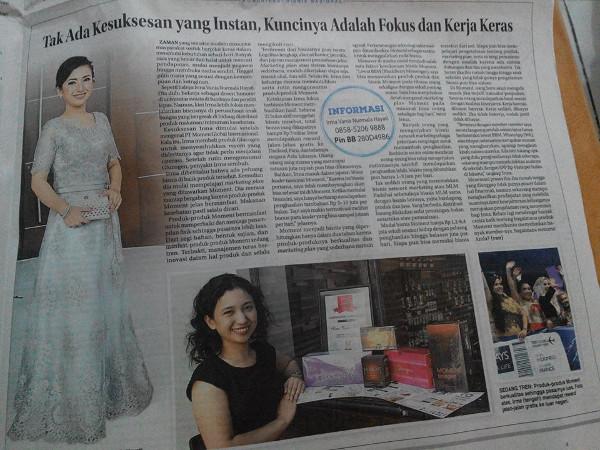 Irma Vania Oesmani Jawa Post