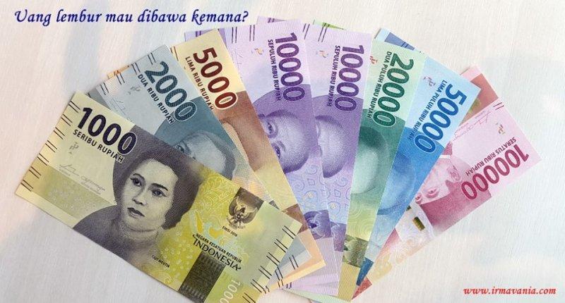 rupiah baru uang lembur akhir tahun modal usaha