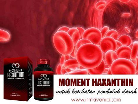 Haxanthin Moment Mencegah Penyempitan Pembuluh Darah Irma Vania
