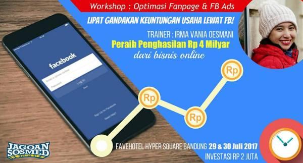 Workshop Bandung Jualan Online Laris di FB