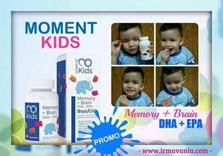 Moment Kids Memory and Brain bagi Kecerdasan Anak