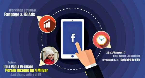 Training Bisnis Surabaya : Fanpage dan FB Ads
