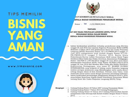 Cara Memulai Bisnis yang Aman Irma Vania Oesmani Moment Surabaya