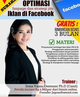 Pelatihan Bisnis Online Surabaya Kelas Privat