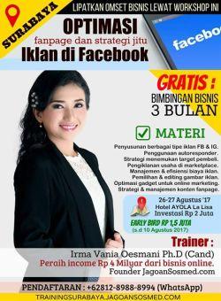 Pelatihan Bisnis Online Surabaya Harga Diskon