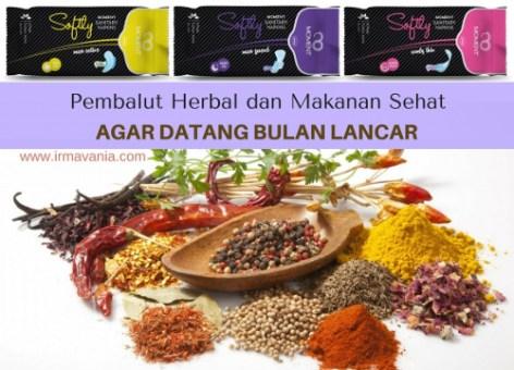 Softly Pembalut Herbal yang Aman Digunakan