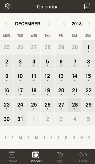 Momentoカレンダー式