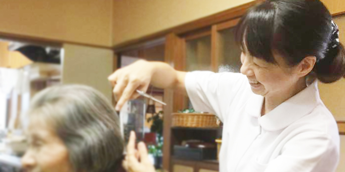 秋田・介護・福祉・美容室・村田薫福祉理容店〜幸のとり〜