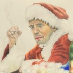 色鉛筆 クリスマス サンタクロース