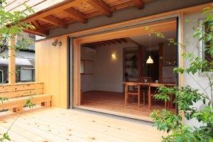自然素材の家づくり立川の家-17