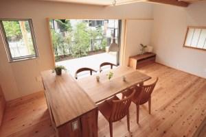 自然素材の家づくり立川の家-5