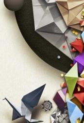 Dribbbleで見つけた折り紙デザイン20選