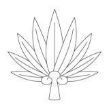 天狗の団扇の作り方:完成