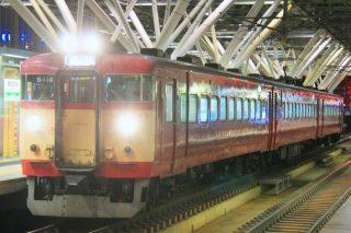 旭川駅の普通列車