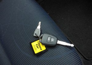 タイムズカーシェアリング鍵2種類