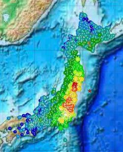 地震の震度とマグニチュードの違い 最大規模の地震ランキング