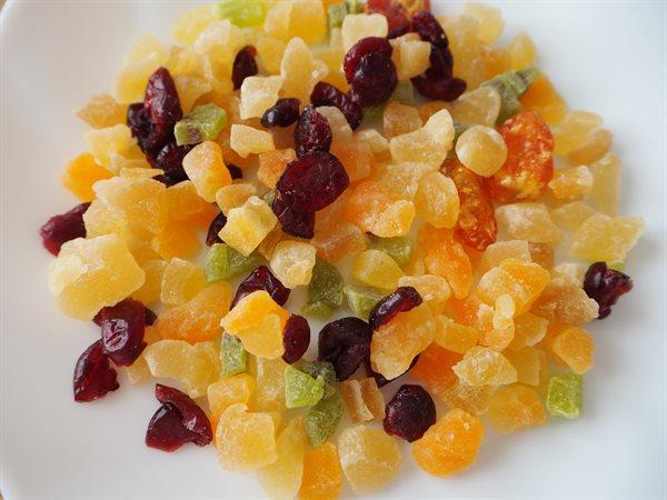 ドライフルーツ 栄養価