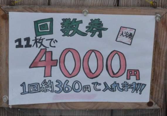 11枚で4000円