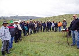groupe de formation de la SOCODEVI au Pérou