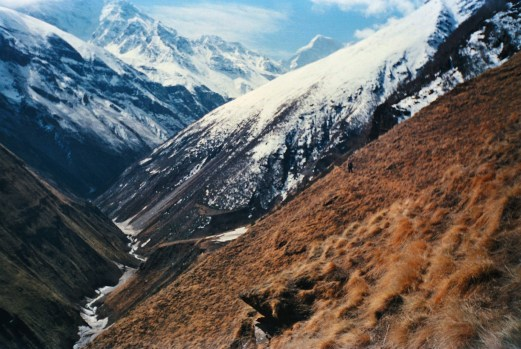 Trekking through the picturesque terrains of the Garhwal Himalays