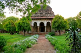 The tomb of Sikandar Lodi built by his son Ibrahim Lodi of the Lodi dynasty which ruled most of the northern India during the 16th century.