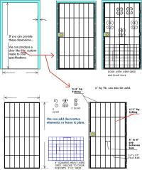 Iron Gates, custom wrought iron gates, iron window guards ...