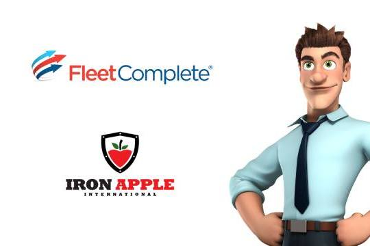 Iron Apple Featured in Fleet Complete Partner Store