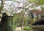 Scroll ended arch overthrow, Coleford near Bath