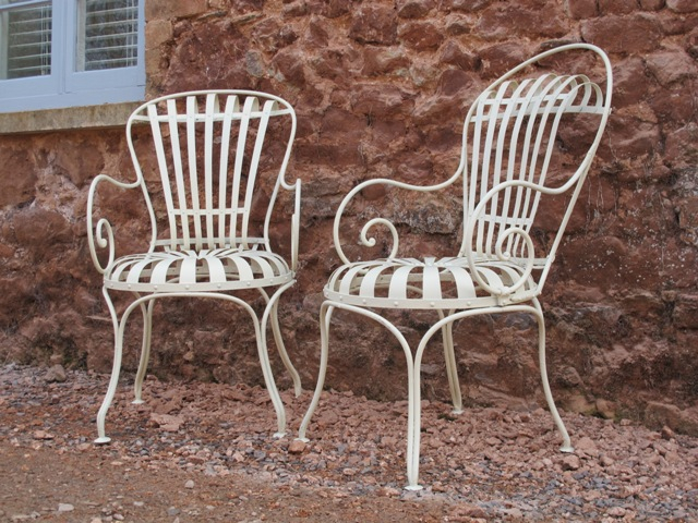 French Garden Furniture Metal