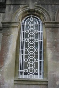 Metal Security Grilles | Ironart of Bath