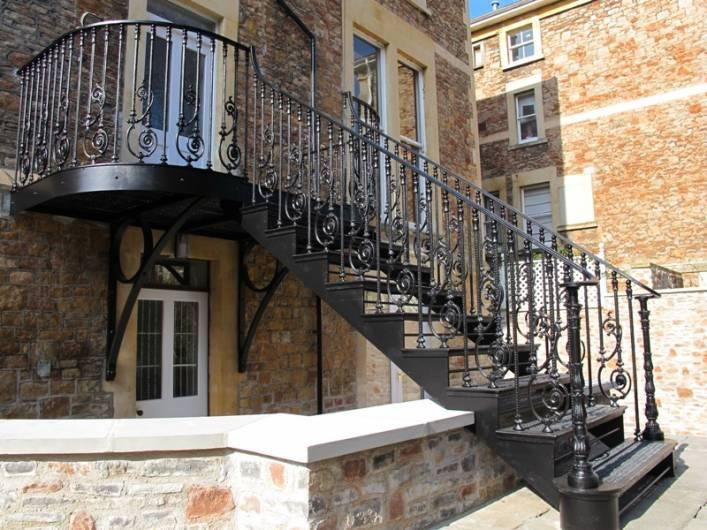 Staircases  Walkways  Ironart of Bath