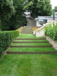Contemporary terraced staircase | Ironart of Bath