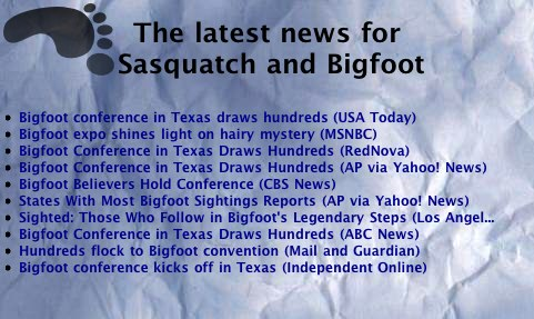The Sasquatch News