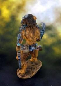 11 Lion Man FINISHED SIDE BACK