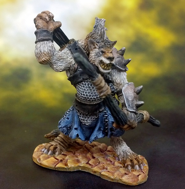 12 Gnoll Ranger FINISHED FRONT small