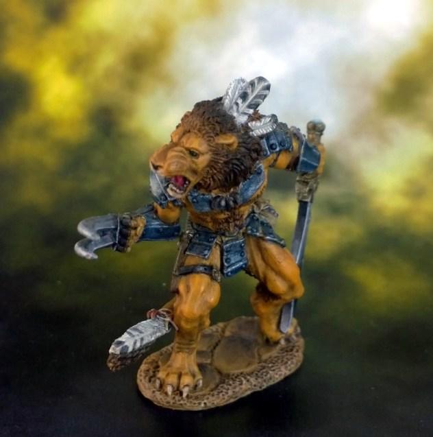 9 Lion Man FINISHED FRONT