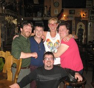 the ceilidh band on tour
