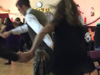 Christmas Ceilidh Dancing
