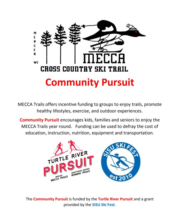 MECCA trails offers incentive funding to groups to enjoy trails, promote healthy lifestyles, exercise, and have outdoor experiences. Funding can be used to defray the cost of education, instruction, nutrition, equipment and transportation.
