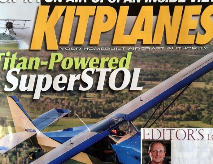 kITPLANES magazine and editor's column.