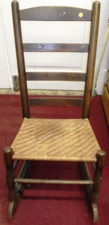 chippendale rocking chair folding chairs at cosco & rockers - iron gate antiques