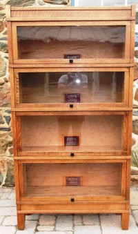 Barrister Bookcases - Iron Gate Antiques