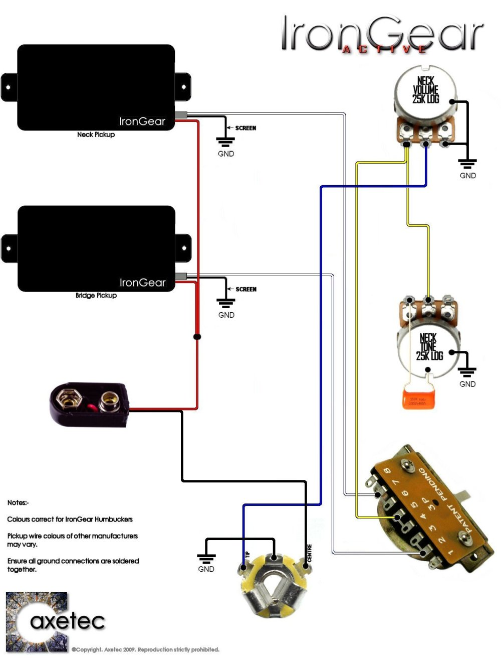 medium resolution of dual humbucker wiring diagram 2 volume 2 tone wiring diagram todaysdual humbucker wiring diagram 2 volume