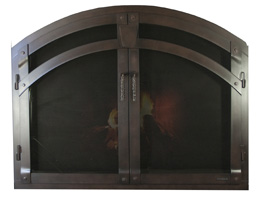 Arched Fireplace Doors By Ironhaus Ironhaus