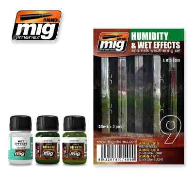 Humidity and Wet Effects Weathering Set